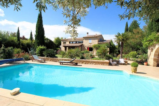 Luxury villa in Castillon du Gard, Provence of the Roman, Gard
