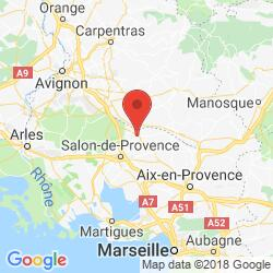 Holiday rental in Alleins, Provence, area around Aix-en-Provence