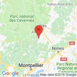 Holiday rental in Tornac, Languedoc, Cevennes