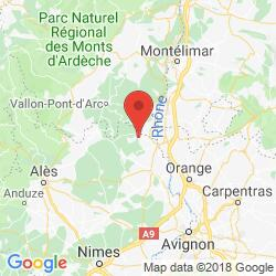 Holiday rental in Saint-Julien-de-Peyrolas, Ardèche canyon