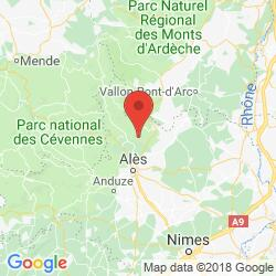 Holiday rental in Saint-Florent-sur-Auzonnet, Languedoc, Cevennes