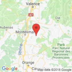 Holiday rental in Souspierre, Provence, Drôme