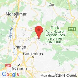 Holiday rental in Mérindol-les-Oliviers, Provence, Drôme