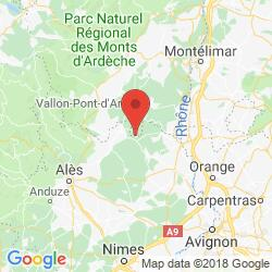Holiday rental in Orgnac-l'Aven, Ardèche canyon