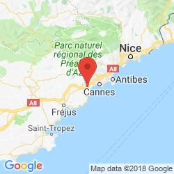 Holiday rental in Mandelieu-la-Napoule, Côte d'Azur