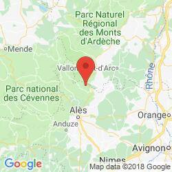 Holiday rental in Courry, Languedoc, Cevennes