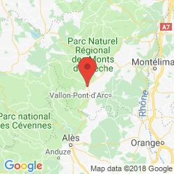 Holiday rental in Lablachère, Ardèche canyon