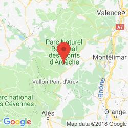 Holiday rental in Sanilhac, Ardèche canyon