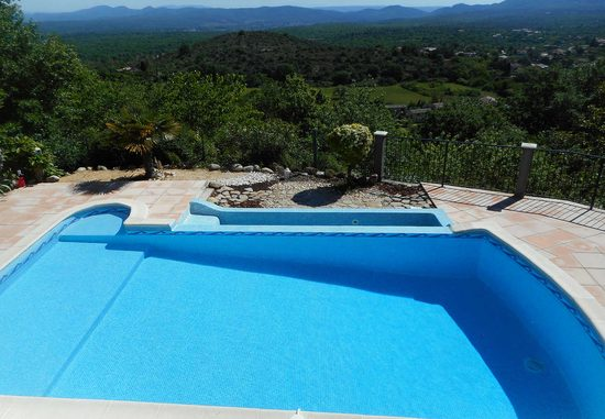 Lovely Holiday House In Courry, Cévennes, View, Heated Pool, Pets Admitted